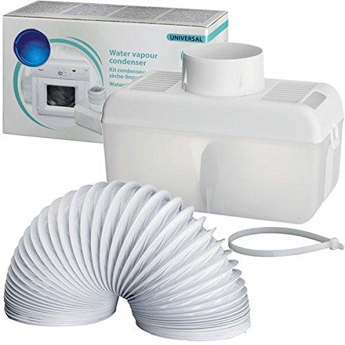 Spares2go condenseur Tuyau d'évacuation kit Box pour Indesit aérée pour sèche linge