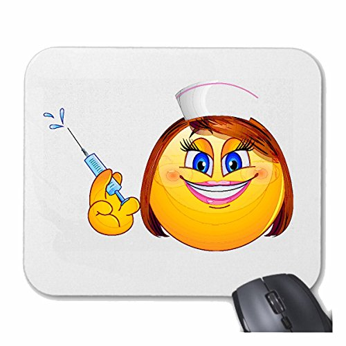 Tapis de souris Mousepad (Mauspad) 'SMILEY DAME AS...