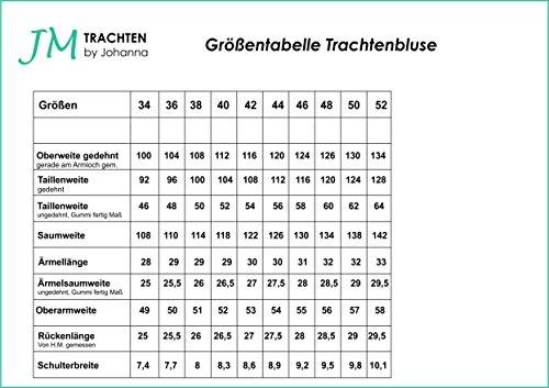 Bluse Damen Rüschenbluse Tunika Mieder Volant Rüsche Schwarz Herz Baumwolle Kurzarm 42 -