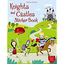 Knights and Castles Sticker Book (Usborne Sticker Books)