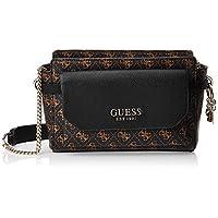 GUESS Women's Cross-Body Handbag, Brown - SG758214