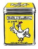 Scatola per dadi per brodo di pollo gialla