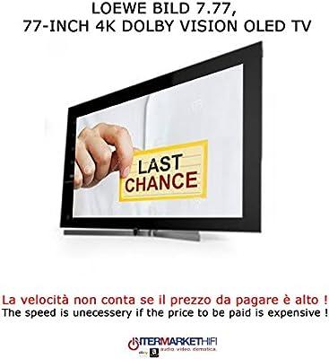 'LOEWE Bild 7–77TV OLED 4K Hdr Potencia Audio 120W TV HIFI Grafito Grey