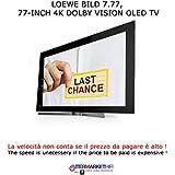 'LOEWE Bild 7–77TV OLED 4K Hdr Puissance Audio 120W TV Hifi Graphite Grey