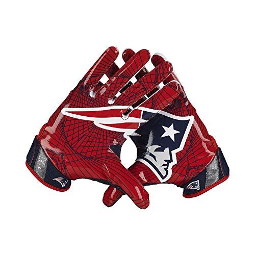 Nike Vapor Jet 4 On-Field (NFL Patriots) American Football Handschuhe - X-Large