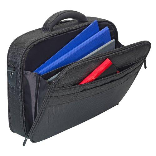 """PEDEA 66066250 Rollkoffer für Notebook """"Premium"""", 43,94 cm (17,3 Zoll) schwarz Tasche mit Maus"""