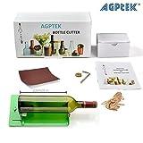 AGPtek Flascheschneider/ Flasche-Fräser/ Cutter - Glas Flasche Cutter Maschine - Glasflascheschneider für längere Flasche