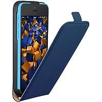 mumbi Flip Case für iPhone 5C Tasche blau