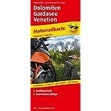 Dolomiten - Gardasee - Venetien: Motorradkarte mit Ausflugszielen und Freizeittipps, wetterfest, reissfest, abwischbar, recycelbar, GPS-genau. Mit Tourenvorschlägen. 1:250000
