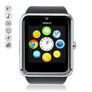wiseup gt08 bluetooth smartwatches uhren telefon mit sim. Black Bedroom Furniture Sets. Home Design Ideas