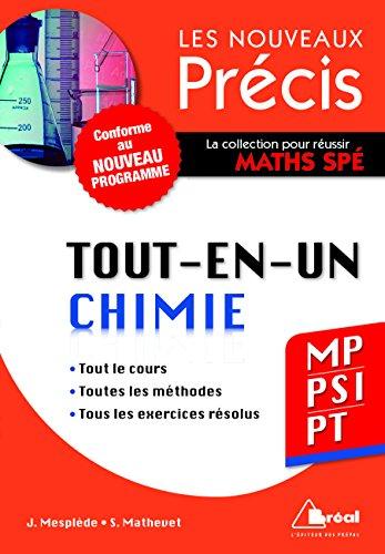 Chimie MP/PSI/PT - Conforme au programme 2014 - Prcis tout-en-un - Cours - Mthode - Exercices