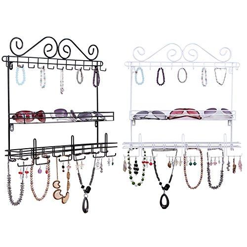 Songmics-Soporte-de-metal-para-joyas-estante-colgante-para-pendientes-anillos-brazaletes