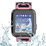9Tong Kids Tracker Relojes con GPS SOS Tarjeta SIM Niños Smartwatch Niños Reloj de Pulsera Inteligente Impermeable para Niños Niñas