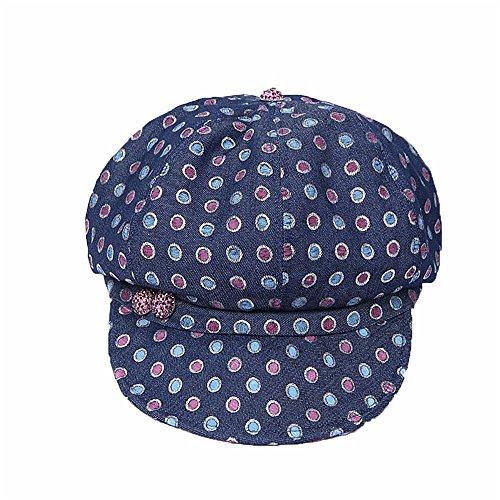 faa98458a9d69 Yiwuhu Freizeit Frühling und Sommer Saison Lady Denim Hat und Farbe Wave  Point Cap.