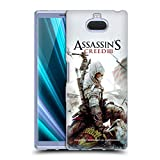 Head Case Designs Ufficiale Assassin's Creed Connor Ascia III Arte Chiave Cover Morbida in Gel per Sony Xperia XA3 Ultra / 10 Plus