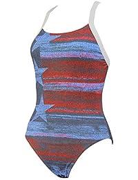 Diana Stars-Stripes Swimsuit - Girls