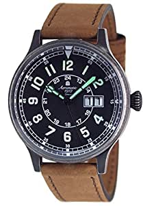 Military Flier watch - Swiss movement - Bigdate function from Aeromatic 1912 Germany A1254B