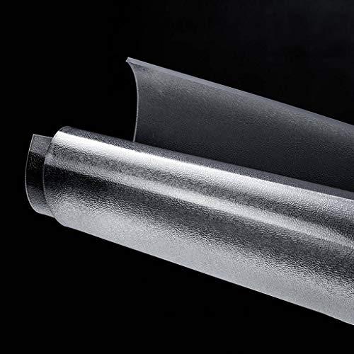 Teppiche Stuhl Mat, Bodenschutzmatte PVC Anti-Rutsch Wasserdichter Langlebig Leicht Zu Reinigen Geeignet Für Parkettboden Hause Esszimmer Büro-140x180cm(55x71inch)-1.5mm