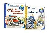 Unbekannt Ravensburger Junior Bücher Set - Wieso? Weshalb? Warum? Die Polizei und Die Rettungsfahrzeuge