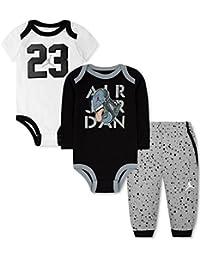 c414516e8e26 Nike Jordan bébé garçon Ensemble Pantalon 3 pièces Bodies et