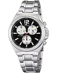 LOTUS Sport Montre Homme chronographe acier inoxydable Massiv 10118/5