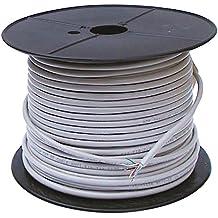 IVS 93884 - Cable Ethernet Cat6 de 100 metros, gris