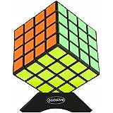 Dodolive Shengshou 4x4x4 Cubo Magico Intellengence alto coeficiente intelectual de los ninos para la Educacion Herramientas Juego de Puzzle,Negro