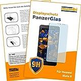 mumbi Panzerglasfolie Huawei Mate 8 Glasfolie Hartglas 9H