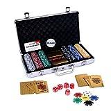 #7: Casinoite Gold poker chip set 300 Toy
