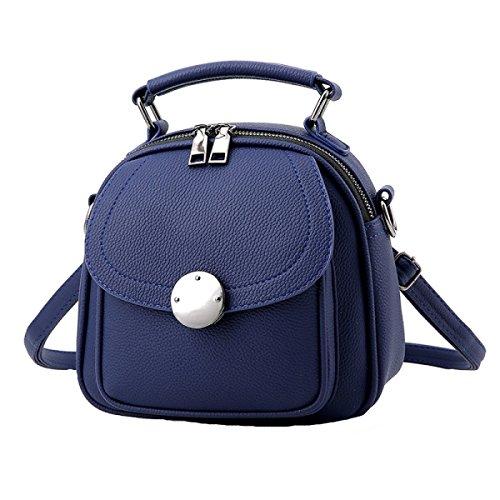 Damen PU Handtasche Wilde Schultertasche Diagonale Paket Einfache Mode (Baby Link Kostüm Muster)