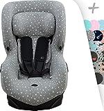 JANABEBE Funda para Bébé Confort Axiss White Star
