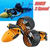 cianxincailia Sea Scooter Seascooter Unterwasserscooter 300 Watt w/Dual Speed Propeller Seeroller Tauchscooter in der Wasser, Wasser Sport Schnorcheln Ausrüstung für ca. Stunde Laufzeit