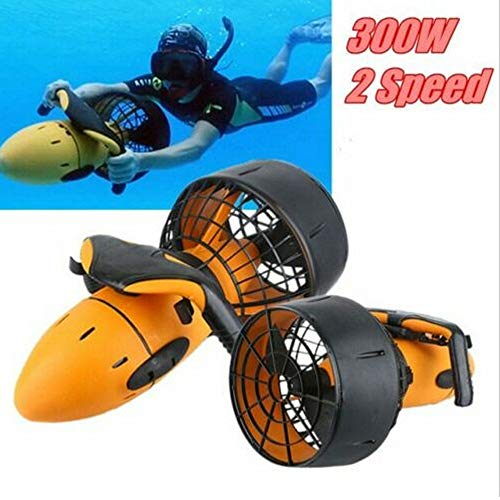 ningfulu101 Underwater Seascooter, Electric Sea Scooter, Dual Speed   Unterwasser Propeller Tauchen Pool Scooter 300W Wasserdicht Wassersport