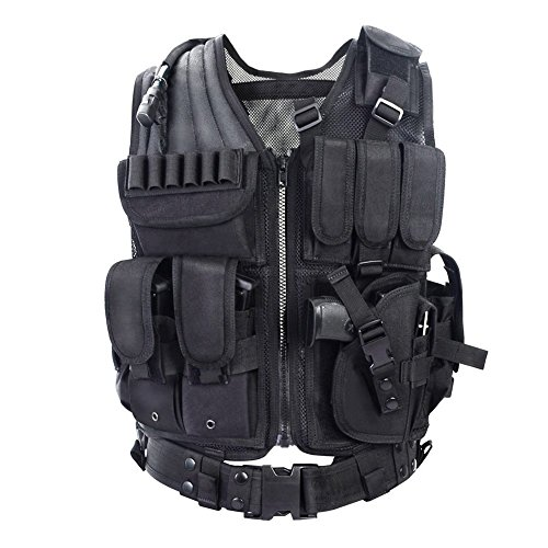 YAKEDA ®Army fans Tactical Vest CS Field Outdoor Equipment Sup
