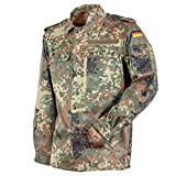 Original Bundeswehr BW Feldbluse Flecktarn 5- Farbig für Männer | Outdoor Kampfbluse und Survival Bluse | Tactical Bluse und Security Bluse (13, Flecktarn 5- Farbig)