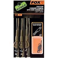Fox Edges Lead Clip Leadcore Leaders, Farbe:Dark Camo