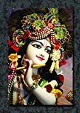 #3: JunkYard Wall Poster - Lord Krishna - HD Quality Religious Poster - God Posters