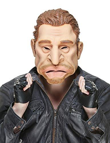 Générique - Masque en Latex Johnny Halliday Adulte - Taille Unique - 155174