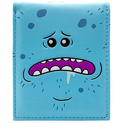 Rick & Morty Mr Meeseeks Existence is Pain Blau Portemonnaie Geldbörse Sanchez Tasche
