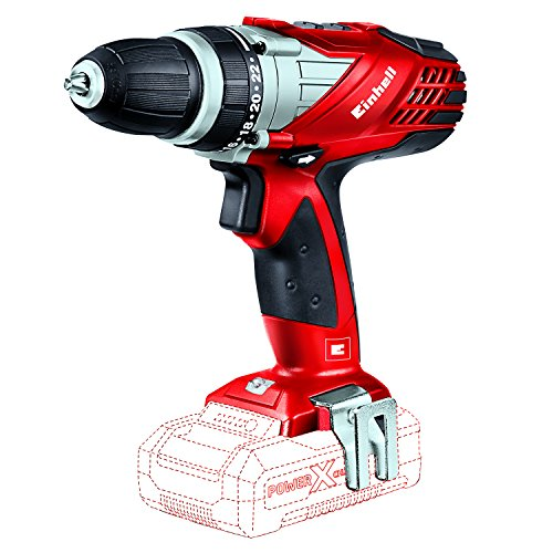 Einhell TE-CD 18 Li Solo Power X-Change Akkuschrauber, 18 V, 2 Gang, 48 Nm, LED-Licht