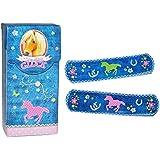 20 Pflaster mit Pferde Glück Tiere - Motiv in Box - Pflasterbox Dose bunt Kinderpflaster Pferd Tier Pferde-Pflaster - für Kinder und Erwachsene