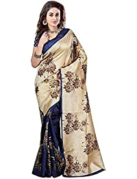Saree ( Blue Art Silk Party Wear Letest Saree)