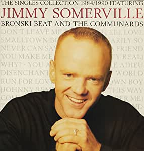 THE SINGLES COLLECTION 1984/1990 FEAT JIMMY SOMMERVILLE VINYL LP[828226-1] 1990