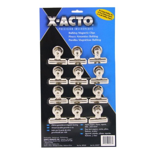x-acto-2-1-4-inch-number-2-bulldog-magnetic-clips-card-of-12