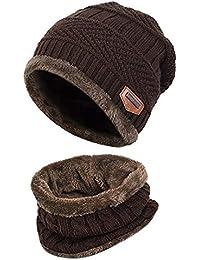 Kfnire sciarpa del cappello di inverno del bambino del ragazzo del neonato  unisex impostato per il regalo ... cc5e3afe99e2