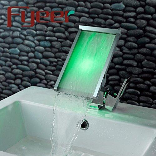 Wasserhahn Liefern (XBR _ wasserfall wasserhahn hersteller liefern die temperatur led - lampe licht mischen tap wasserhahn klos fällt)