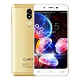 CUBOT R9 3G Smartphone Libre/Teléfono Móviles /Android 7.0 /MTK6580A 1.3GHz Quad Core /5.0'' IPS /HD Screen 1280 * 720p/2GB RAM + 16GB ROM/Double Caméra 13.0MP + 5.0MP/Batterie 2600mAh,Smartphone Libre (Dorado)