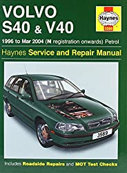 Volvo S40 and V40 Petrol: 1996-2004 (Haynes Service and Repair Manuals) by Mark Coombs (20-Jan-2005) Board book