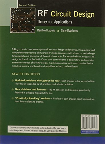 RF Circuit Design Theory And Application Second Edition