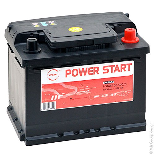 NX - Batteria auto 60Ah - NX Power Start 12V 60Ah